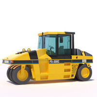 Pneumatic asphalt compactor