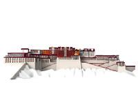 3d potala palace model