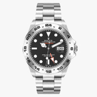 rolex explorer ii black 3d model