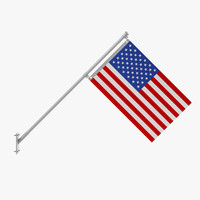 3dsmax flag