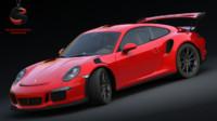 3d porsche 911 gt3 rs model