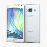3d model samsung galaxy a5 duos