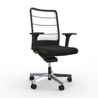 air pad interstuhl chair 3d model
