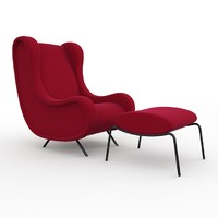 3d sir arflex armchair model