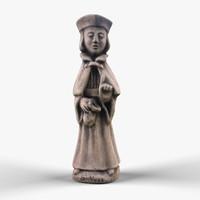3dsmax stone sculpture