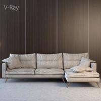 l taylor sofa 3d model
