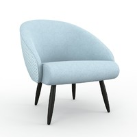 Club Zimmer armchair by Rohde