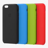 iphone 6 silicone case 3d c4d