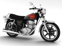 3d yamaha sr500 1978