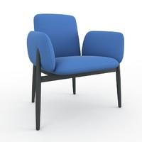 torii ligne roset armchair 3d model