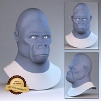 gorilla 3d max
