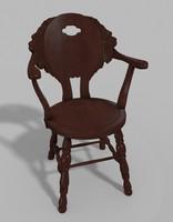 3d lion chair