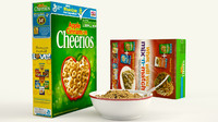 3ds max cereal product shot