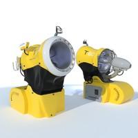3d model of t60 snowgun