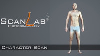 fbx matt male body scan