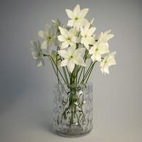 ikea godkanna vase narcissus 3ds