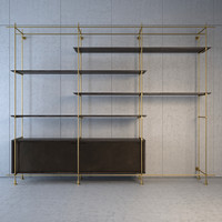 amunael collector s shelving 3d max