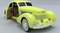 3d model of cord 1937