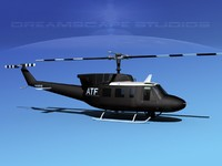 212 bell twin huey 3ds