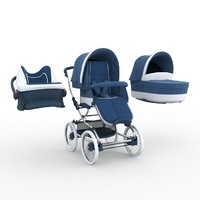 bebecar stylo class stroller 3d max