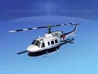 3d model 212 flight bell