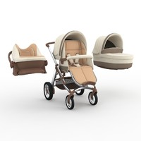 3ds max bebecar ip-op evolution stroller