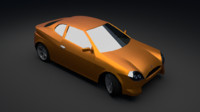car pc android 3d blend