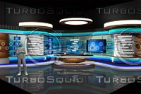 news room studio 002 3d max