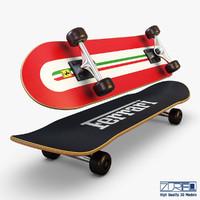3d skateboard v 3