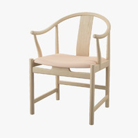 pp 56 chinese chair 3d model