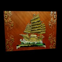 3d chinese junk ship