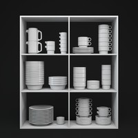 maya set porcelain tableware