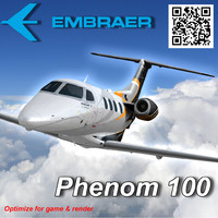 3ds max embraer phenom 100