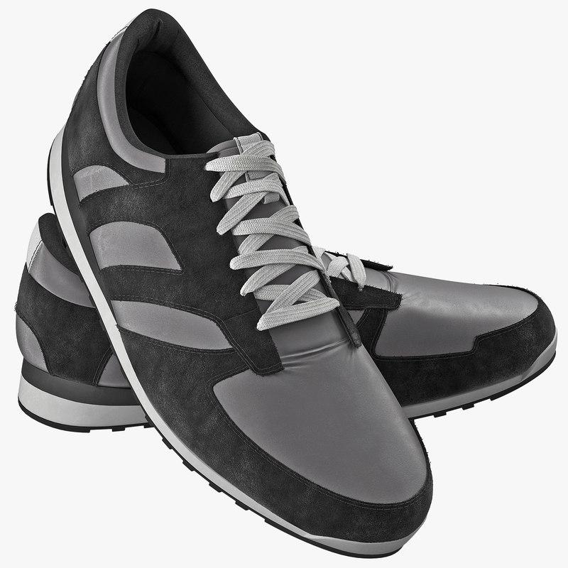 Running Shoes 3d model 00.jpg