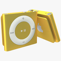 max ipod shuffle orange