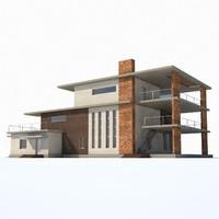 3d model residence house