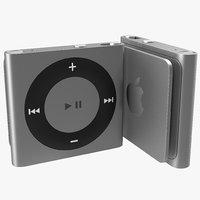 maya ipod shuffle grey