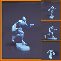 3d spidey character model