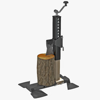 3ds max portable wood splitter bal