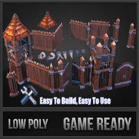 Wooden Fortress Pack