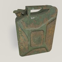 gas gasoline canister 3d 3ds