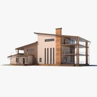 3dsmax residence house