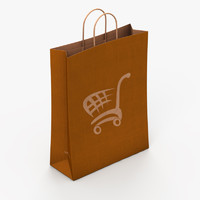 maya paper shopping bag