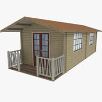 cabin type 1 3d model