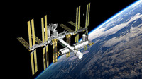 3d international space station