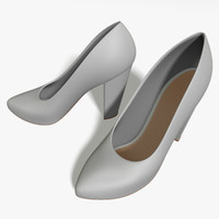 pumps heel 3d model