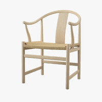 pp 66 chinese chair 3d model