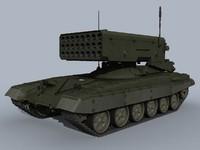 3d tos-1a tos-1 model