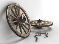 wooden wheel max