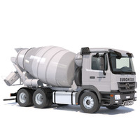 mercedes actros cement mixer max